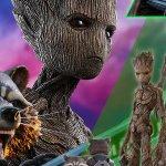 Avengers: Infinity War, ecco le figure della Hot Toys di Rocket Raccoon e Groot