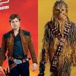 Solo: a Star Wars Story, Han, Chewbacca e gli altri protagonisti un un nuovo banner promozionale