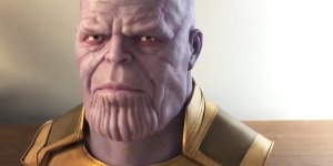 Avengers: Infinity War, il busto di Thanos scolpito a mano in un video in timelapse