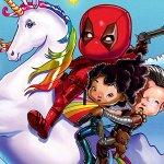 Deadpool 2: unicorni e arcobaleni nel nuovo IMAX poster