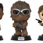 Solo: a Star Wars Story, ecco le nuove figure Funko POP! dei protagonisti del film