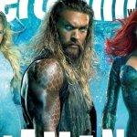 Aquaman in copertina su EW, ecco Nicole Kidman come Atlanna e Black Manta!