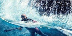 Shark – Il Primo Squalo, due nuovi spot e un suggestivo poster del film con Jason Statham