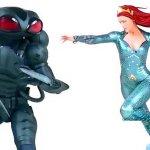 Aquaman: un nuovo sguardo ai costumi di Black Manta e Mera grazie ad alcune statuine da collezione