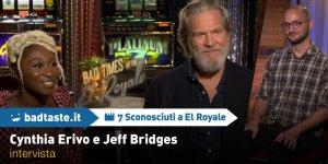 7 Sconosciuti a El Royale: Cynthia Erivo e Jeff Bridges dalle sfide al rapporto sul set