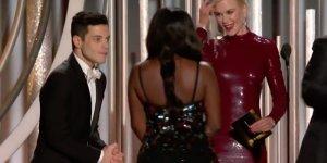 Rami Malek commenta il momento imbarazzante con Nicole Kidman ai Golden Globes