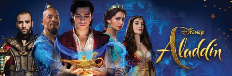 Risultati immagini per aladdin 2019 banner