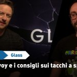 EXCL – Glass: James McAvoy, Patricia e come portare bene i tacchi a spillo