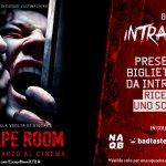 Escape Room: guarda il film e ricevi uno sconto per una delle sale di Intrappola.TO