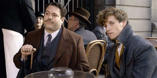 johnny depp dan fogler jacob animali fantastici