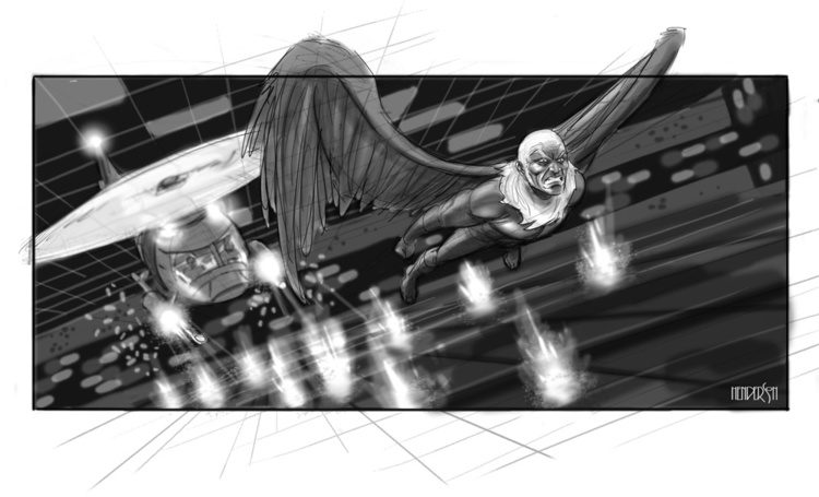 Spider-Man 4 storyboard
