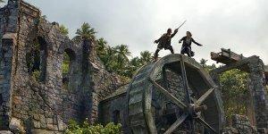 pirati dei caraibi stuntman disney 4k