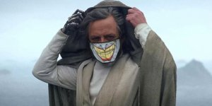 mark hamill mascherina