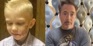 robert downey jr sorpresa bridger walker