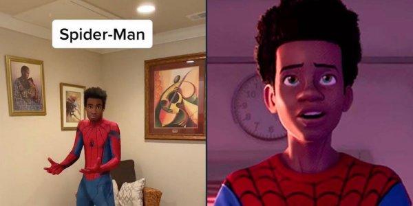spider-man video virale
