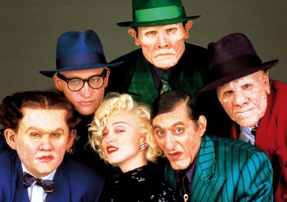 Dick Tracy cast