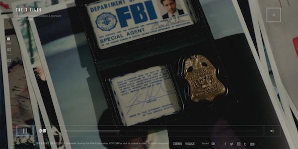 X Files - premiere