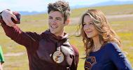 Supergirl/The Flash: tante nuove foto (anche BTS) del crossover