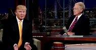 """David Letterman su Donald Trump: """"Dovrebbe prendere un appuntamento con uno psichiatra"""""""