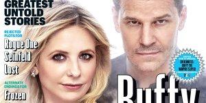 Buffy: la copertina di EW dedicata al ventesimo anniversario