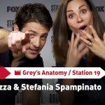 EXCL – Grey's Anatomy & Station 19: il nostro incontro con Stefania Spampinato e Alberto Frezza