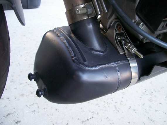 Buell Forum: Muffler paint that just may work...