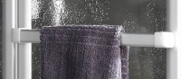 Handtuchhalter fr Schulte Badewannenaufsatz 2x3-teilig D1700