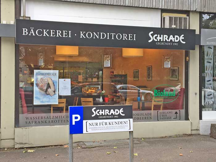 Fachgeschft Salzcker  Bckerei Konditorei Schrade