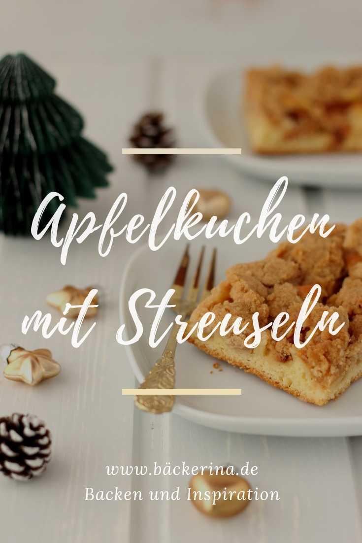 Apfelkuchen Rezept Mit Zimtstreuseln Apfel Zimt Kuchen