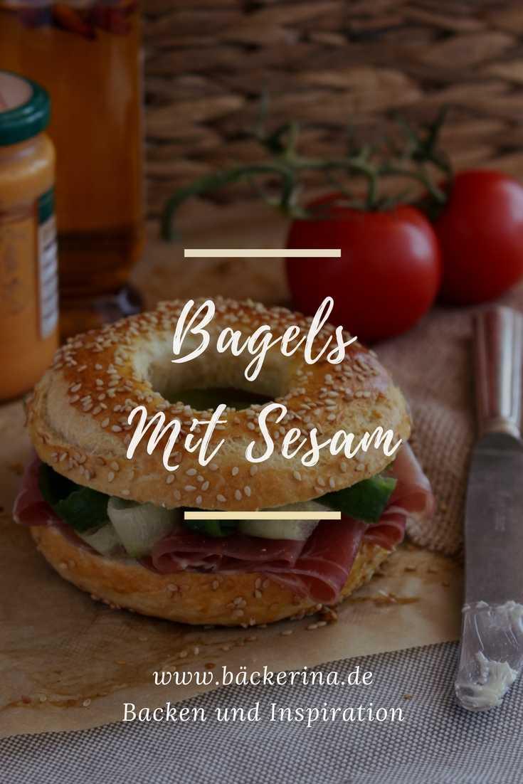 Bagels mit Sesam