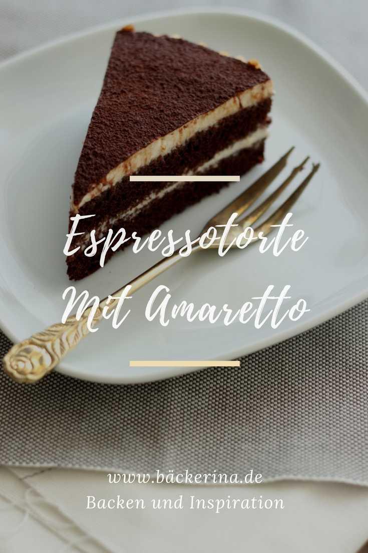 Espressotorte Mit Amaretto