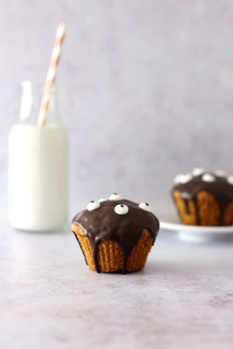 Monster Muffins für Halloween