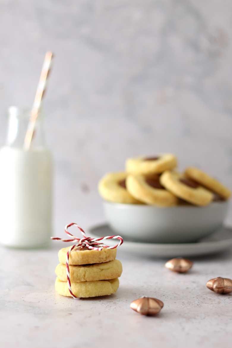 Zarte Karamell Cookies