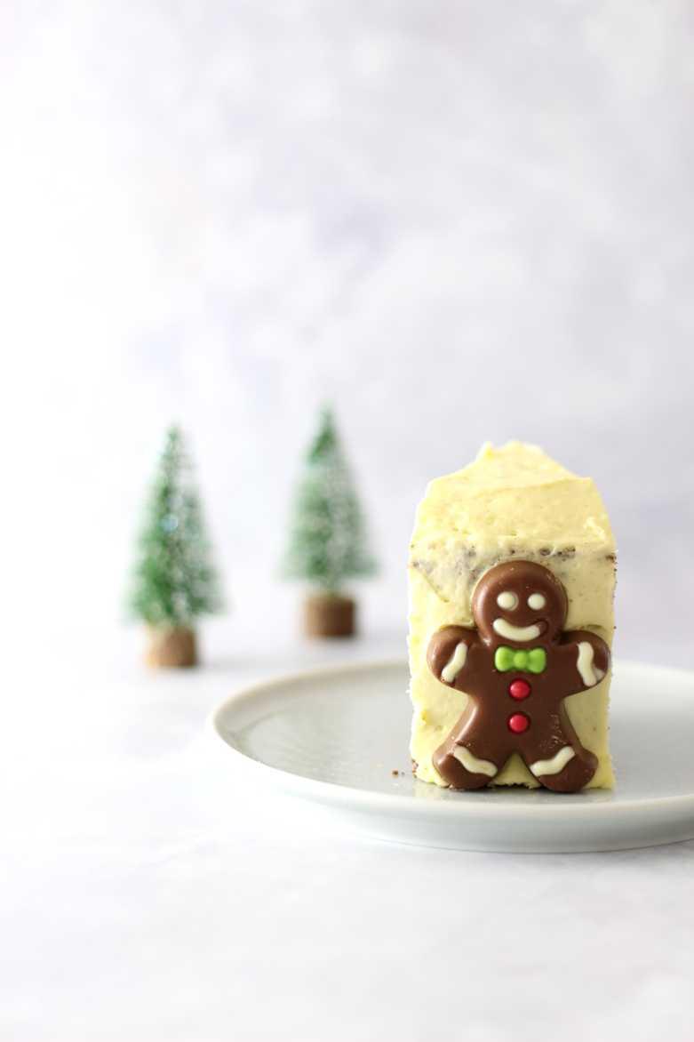Vegane Weihnachtstorte