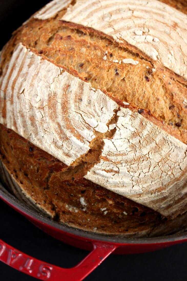 Leinsamenbrot aus dem Topf | bäckerina.de