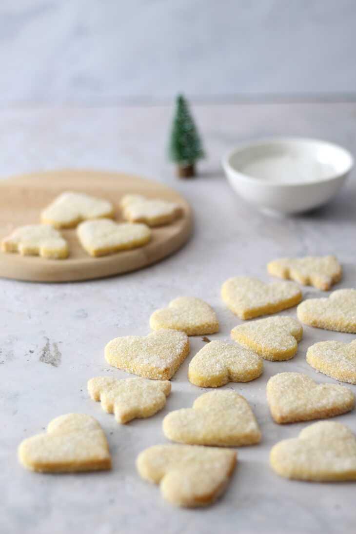 Vanilleplätzchen Rezept   bäckerina.de