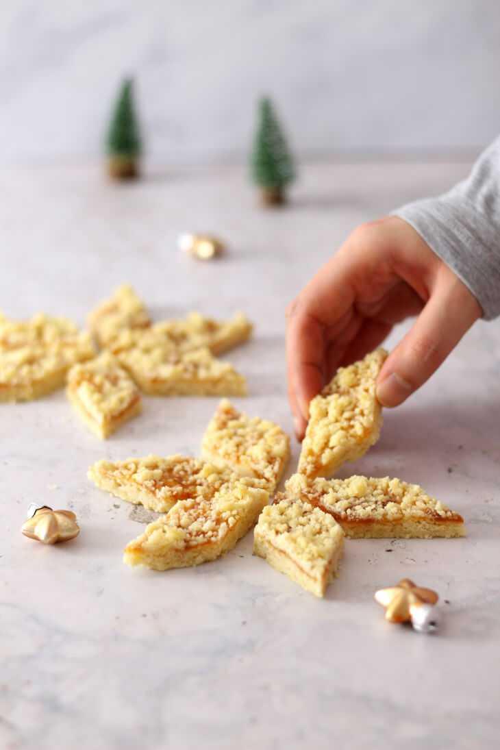 Streuselplätzchen Rezept | bäckerina.de