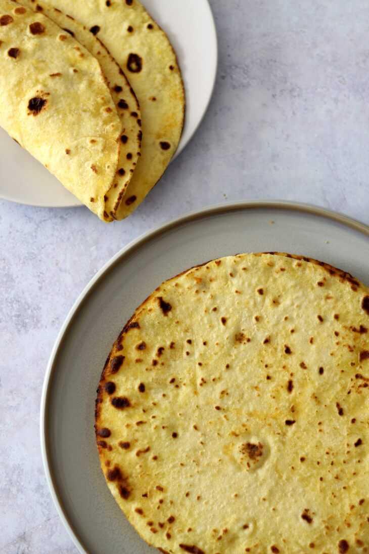 Tortillas Rezept mit Maismehl | bäckerina.de