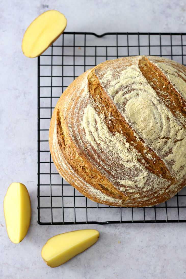 Ofenkartoffelbrot | bäckerina.de