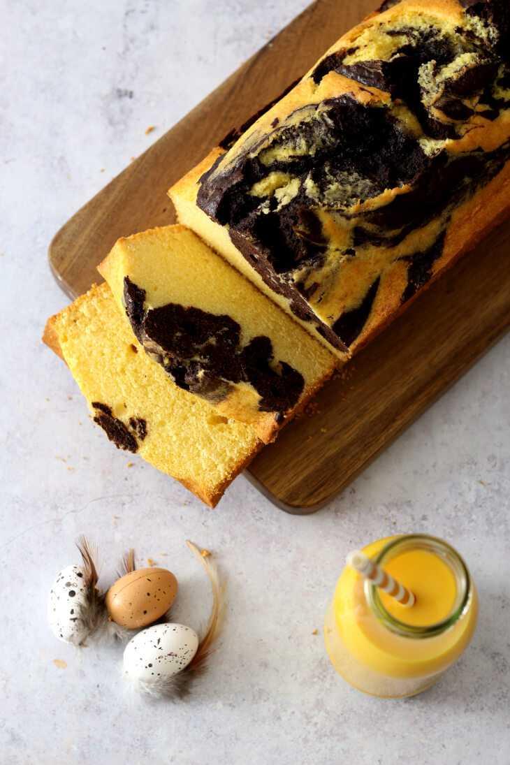 Marmor Eierlikörkuchen | bäckerina.de