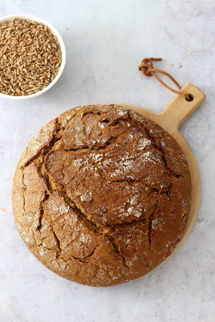 Reines Roggenbrot mit Sauerteig | bäckerina.de