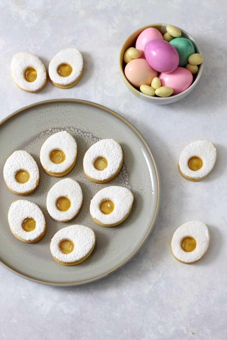 Ostereier Plätzchen | bäckerina.de
