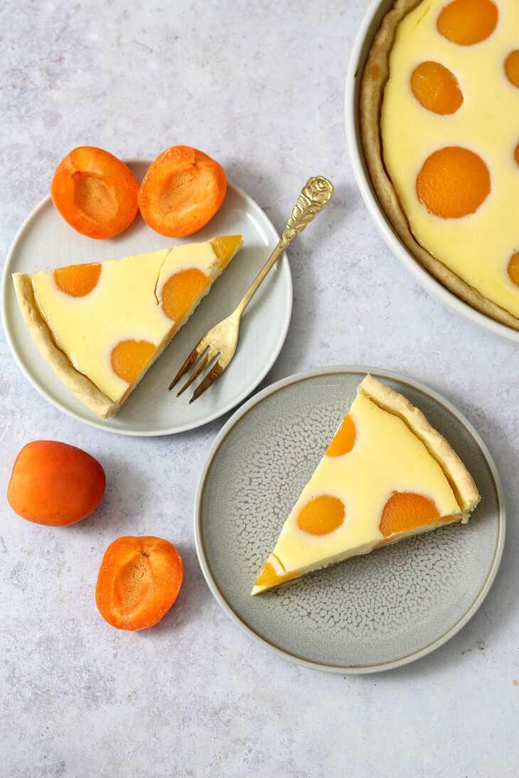 Aprikosen Schmand Kuchen | bäckerina.de