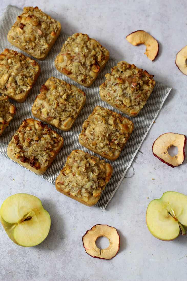 Apfel Nuss Törtchen Rezept | bäckerina.de