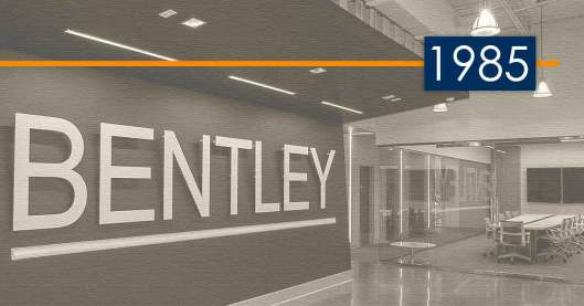 Bentley History and Development: 1985 – Introducing Architecture