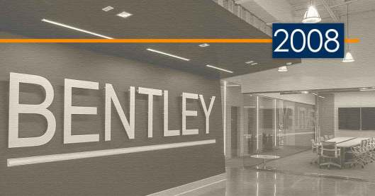 Bentley History and Development: 2008 – Serving Our Schools