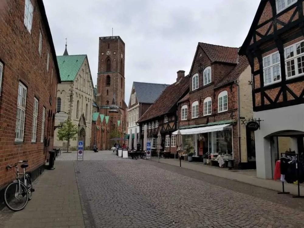 Die älteste Stadt Dänemark, Ribe.