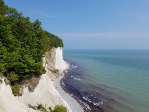 Ostsee mit Rügen und Usedom. Camping Tour durch den Norden Europas.