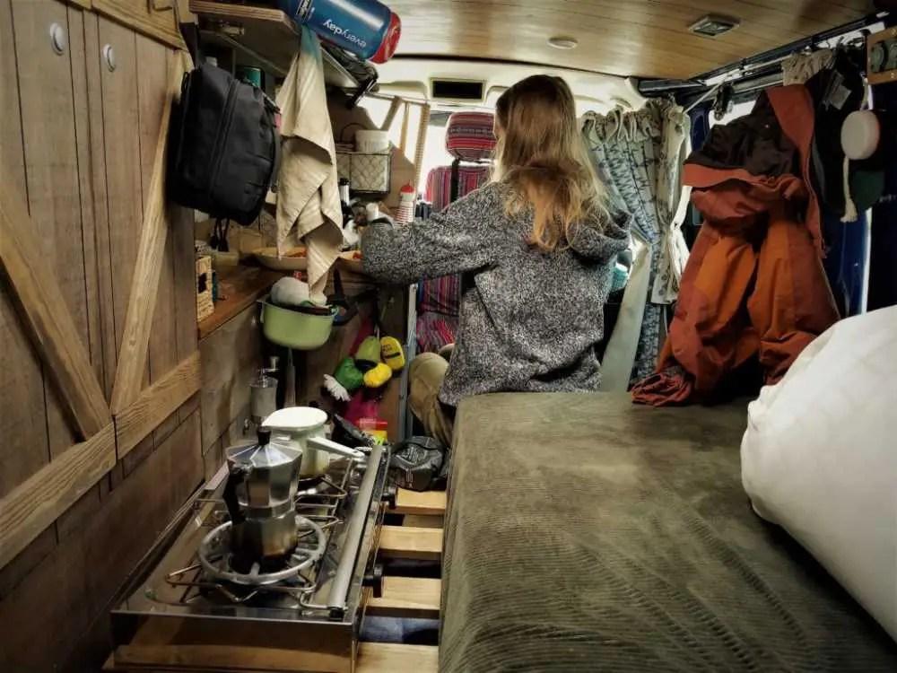 Das Leben im Camper auf unserer Reise durch den Norden Europas.
