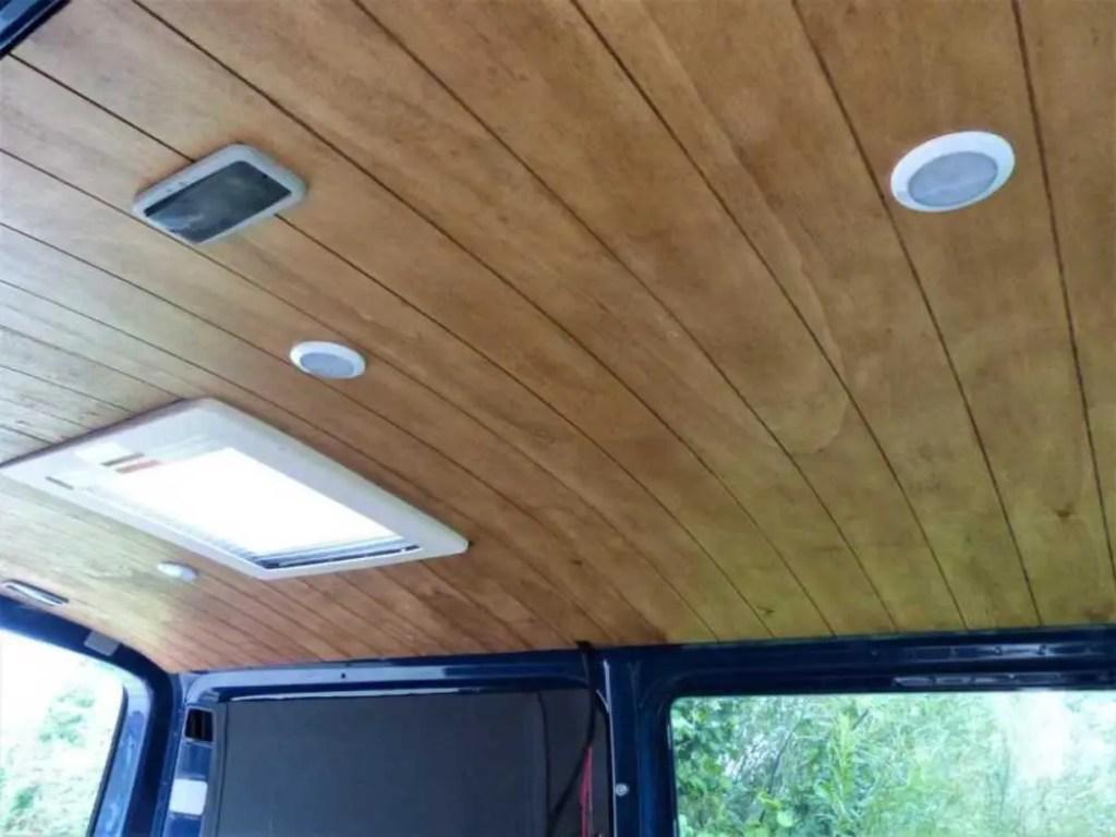 Camper Holz Dachhimmel